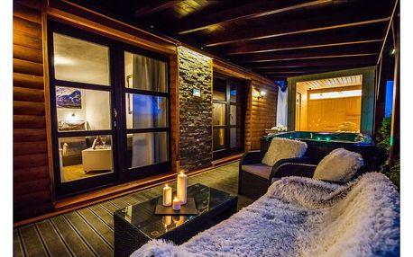 Pobyt v luxusní wellness apartmá se saunou a vířivkou na pokoji