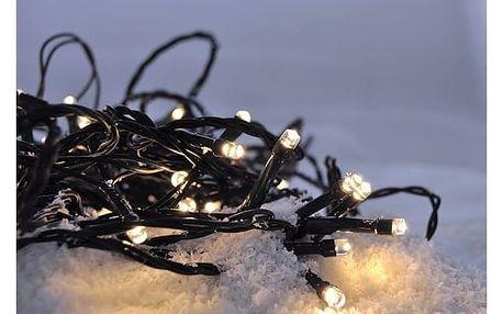 Solight Vánoční řetěz 60 LED teplá bílá, 10 m