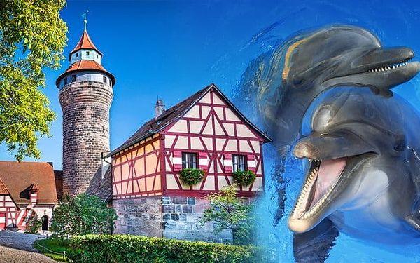 1denní zájezd pro 1 osobu do ZOO Norimberk a Delfíní laguny