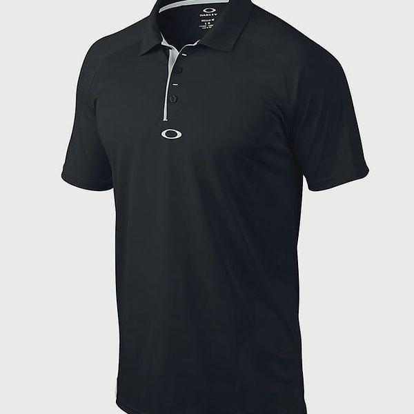 Tričko Oakley Elemental 2.0 Polo Jet Black Černá