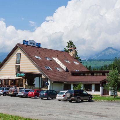 Rodinná pohoda v útulném Hotelu Sosna *** ve Vysokých Tatrách