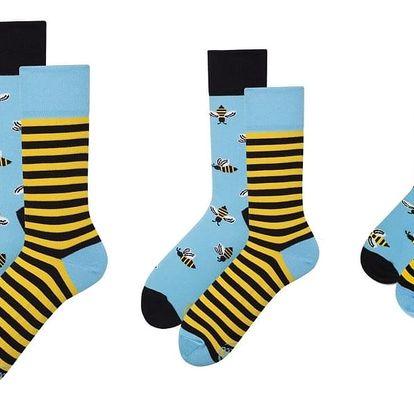 Rodinná sada 3 párů ponožek Many Mornings Bee Grand
