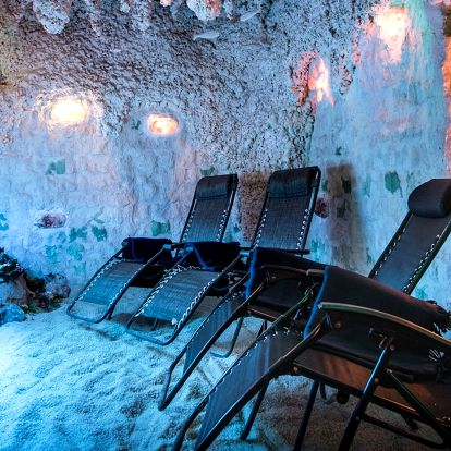 Zimní balíčky vstupů do solné jeskyně Orchidea