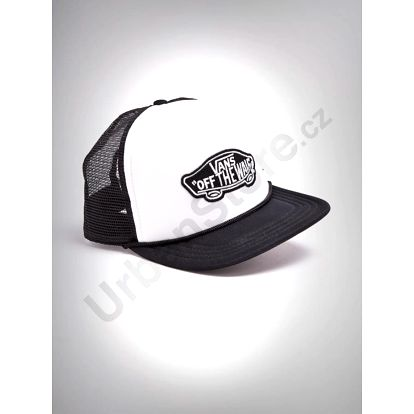 Kšiltovka Vans MN CLASSIC PATCH TRU White/Black Barevná