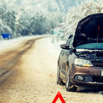 Zimní prohlídka vozu a testování autobaterií