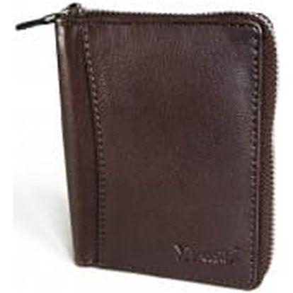 XPOSE ® Pánská peněženka XPOSE XN-15 - tmavě hnědá