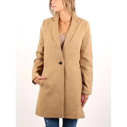 Kabát Superdry ISTEGADE COAT Hnědá