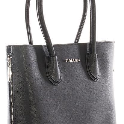 Flora & Co Luxusní kabelka dámská s zipy