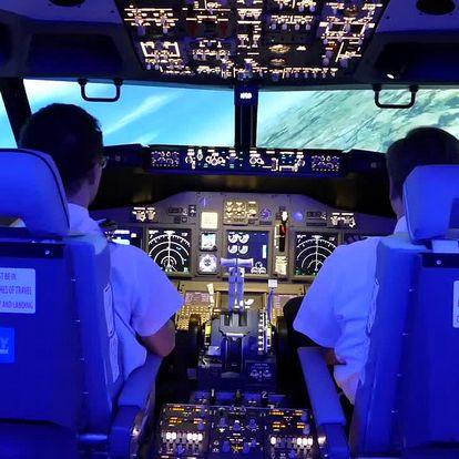 Simulátor letu v Boeingu 737 pro fandy