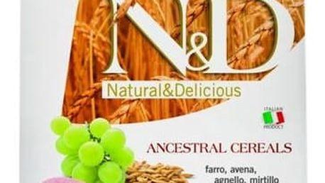 Granule N&D Low Grain DOG Adult Lamb & Blueberry 12 kg + Doprava zdarma