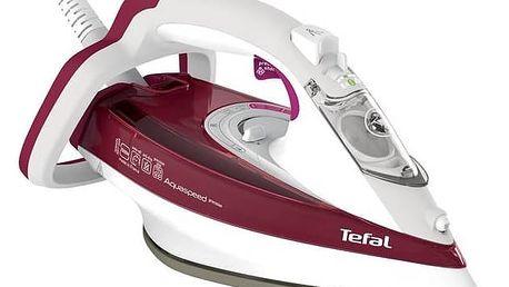 Žehlička Tefal Aquaspeed FV5525E0 bílá + Doprava zdarma