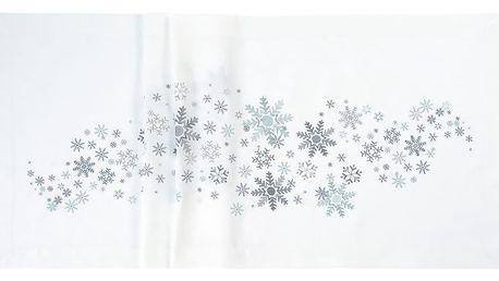 Sander Ubrus Crystal medley bílá 50 x 140 cm