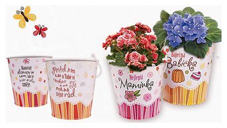 Dárkové obaly na květináče - průměr 14 cm - VÝPRODEJ