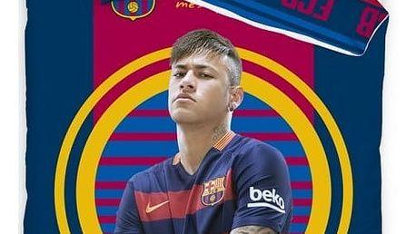 Fotbalové povlečení Neymar JR, 140 x 200 cm, 70 x 90 cm