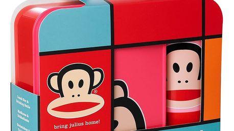 Červený svačinový set Paul Frank
