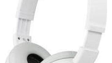 Sluchátka Sony MDRZX310W.AE (MDRZX310W.AE) bílá + Doprava zdarma