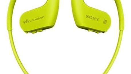 MP3 přehrávač Sony NW-WS623G zelený + DOPRAVA ZDARMA