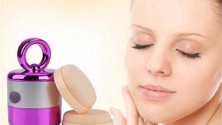 Vibrační aplikátor make-upu