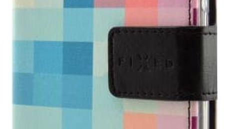 Pouzdro na mobil flipové FIXED Opus pro Samsung Galaxy A3 (2017) - dice (FIXOP-157-DI) + Doprava zdarma