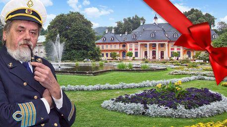Dárkový lístek na plavbu lodí k zámku Pillnitz