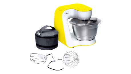 Kuchyňský robot Bosch StartLine MUM54Y00 bílý/žlutý + DOPRAVA ZDARMA