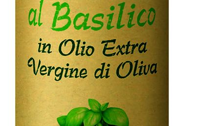 Farchioni IL Casolare Extra panenský olivový olej s bazalkou 250 ml