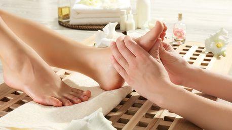 Reflexní masáž končetin s diagnostikou a zábalem