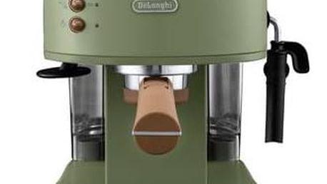 Espresso DeLonghi Icona Vintage ECOV 311.GR zelené + Doprava zdarma