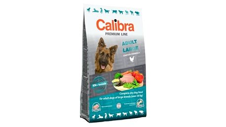 Granule Calibra DogPremium Line Adult Large 12 kg Granule Calibra Dog Premium Adult Large 3 kg (zdarma) + Doprava zdarma