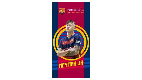TipTrade Osuška FC Barcelona Neymar JR, 70 x 140 cm
