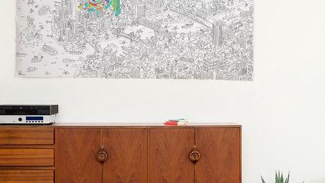 Omalovánka OMY New York XXL,180x100cm