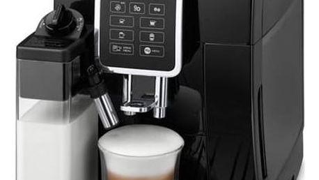 Espresso DeLonghi Dinamica ECAM 350.55 B černé + okamžitá sleva 5000 Kč! + Doprava zdarma