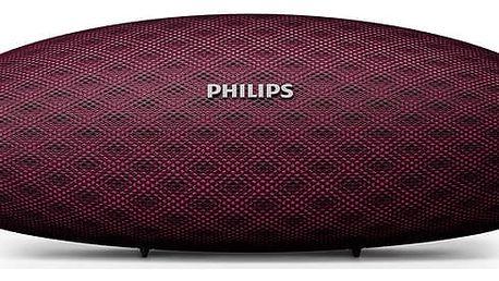 Přenosný reproduktor Philips BT6900P/00 růžový