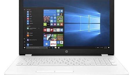 Notebook HP 15-bw027nc (1TU90EA#BCM) bílý + Doprava zdarma