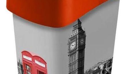 Odpadkový koš Curver Flipbin London 25 l