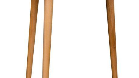 Bílý odkládací stolek House Nordic Genova, 47,5cm