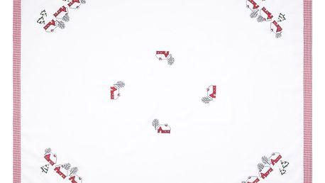 Forbyt Vánoční ubrus Chaloupky, 120 x 140 cm, 120 x 140 cm