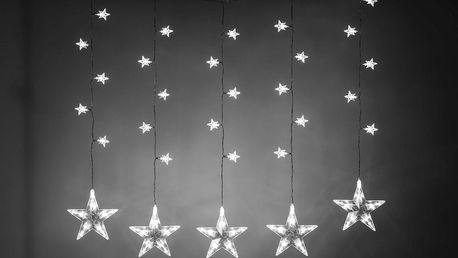 Řetěz světelný LED Hvězdy