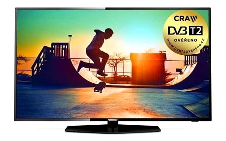 Televize Philips 55PUS6162/12 černá + Doprava zdarma