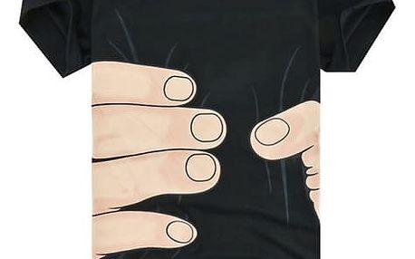Tričko s krátkým rukávem a vtipným potiskem