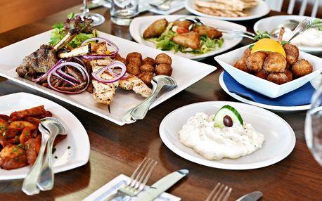 Řecké menu plné dobrot pro dva
