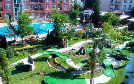 Bulharsko Slunečné pobřeží, studio 2-4 os., pobytový zájezd s DOPRA...