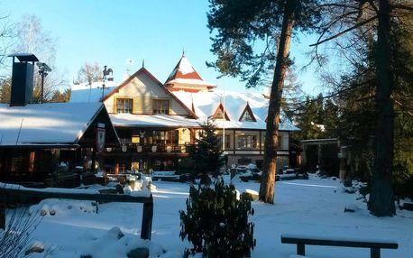 Zima s privátním wellness vstupem v Tatrách