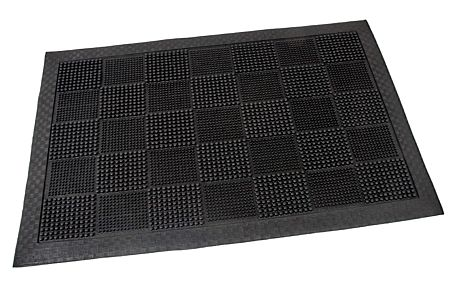 Flomat Venkovní rohožka Pin squares, 40 x 60 cm