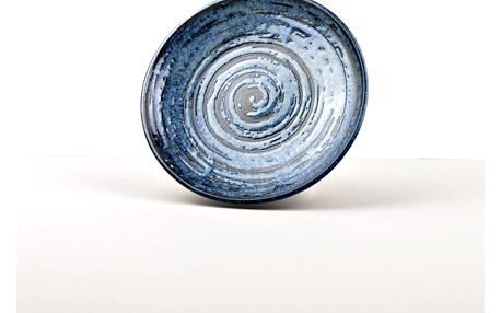 MIJ Kulatý talíř COPPER SWIRL 20 cm