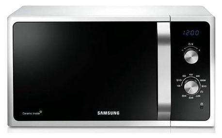Mikrovlnná trouba Samsung Muse3 MG23F301EJW/EO bílá + Doprava zdarma