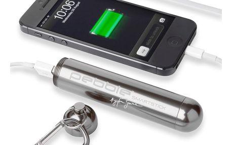 Cestovní nabíječka Pebble Smartstick VPP-004 Titanium