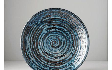 MIJ Mělký talíř Copper Swirl 25 cm