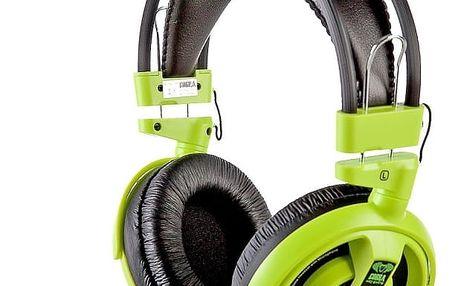 E-Blue Cobra I,herní sluchátka s mikrofonem,zelená (EHS013GR)