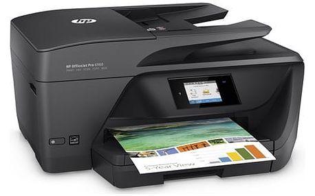 Tiskárna multifunkční HP Officejet Pro 6960 (J7K33A#625) černá + DOPRAVA ZDARMA